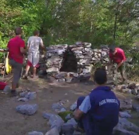 Video – izgradnja suhozidnog ognjišta (Martin)