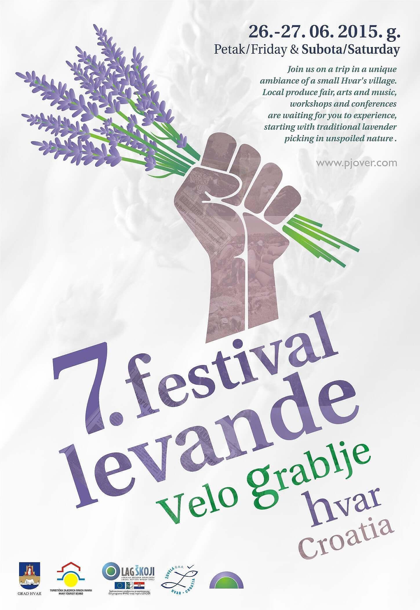 7 fest levande plakat