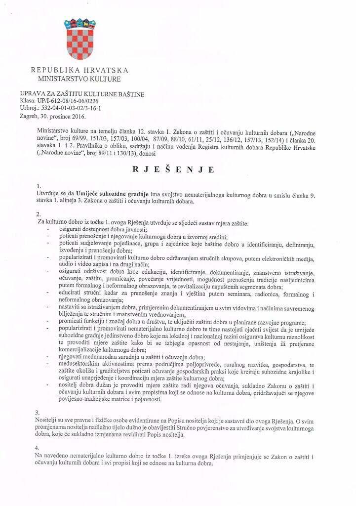 Rjesenje o zastiti suhozidne gradnje 2016_Page_01