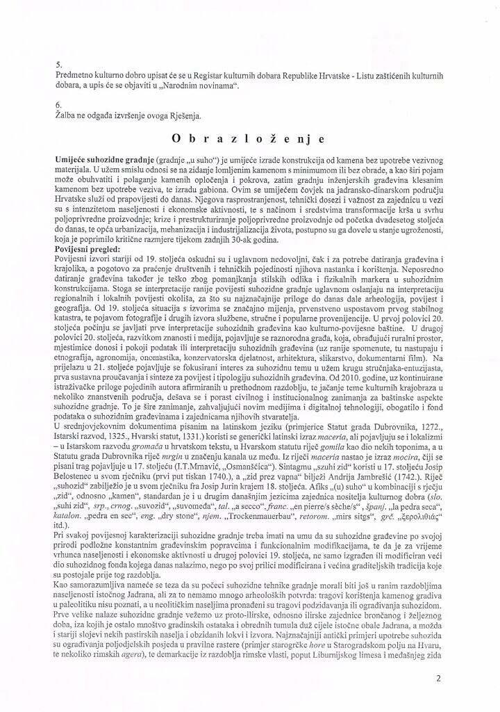 Rjesenje o zastiti suhozidne gradnje 2016_Page_02