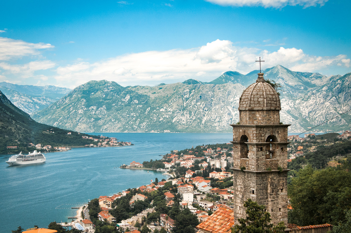 Beautiful Panorama of Kotor