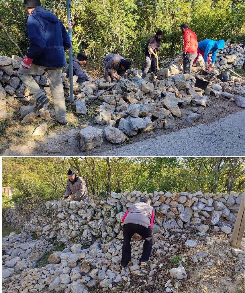 Slika 8 Gradnja i partecipanti
